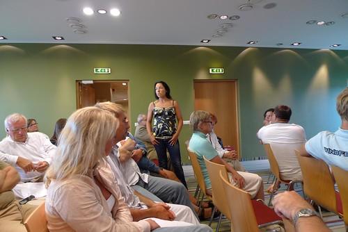 Anneli Varjun Kuressaare konverentsil