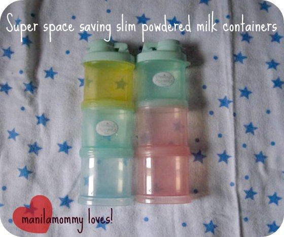 slim milk containers