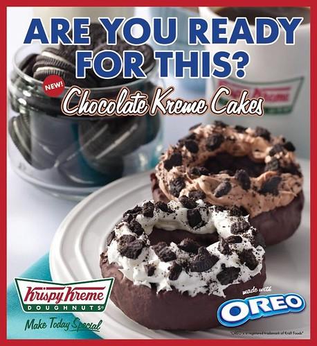 krispy kreme chocolate kreme cakes