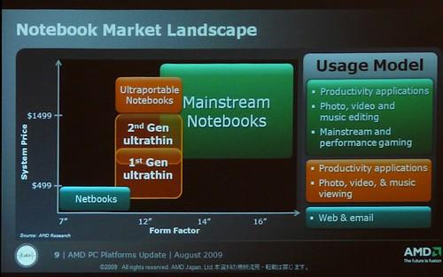 AMD Tigris 2009 NB Market