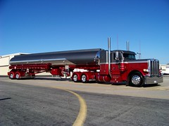 Jetspeed Inc (Mag Publisher) Tags: show red truck grey burgundy working jet wheeler custom 18 tanker peterbilt 389 jetspeed 379