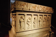 Mourning Women Sarcophagus (chris.alsup) Tags: turkey sarcophagus istanbularcheologymuseum