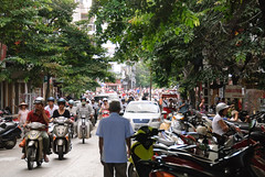 Hanoi Street Traffic