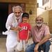 Altaf Shaikh with Rashid Kharl and his grand son