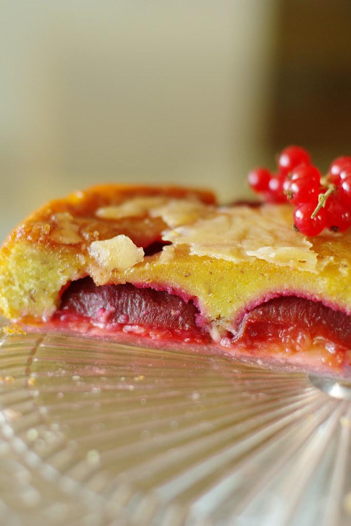 Plumcake slice