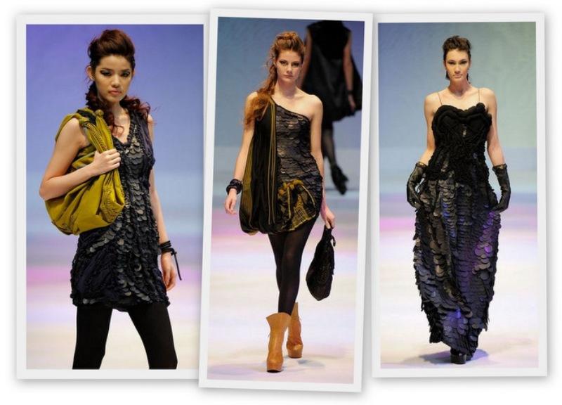 Ali Charisma FW09 scale dresses