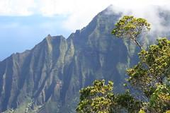 Movieland: Na Pali from the land side (Joyce and Steve) Tags: hawaii kauai napalicoast