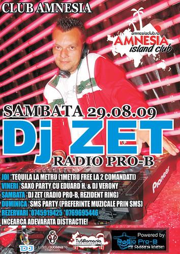 29 August 2009 » DJ Zet