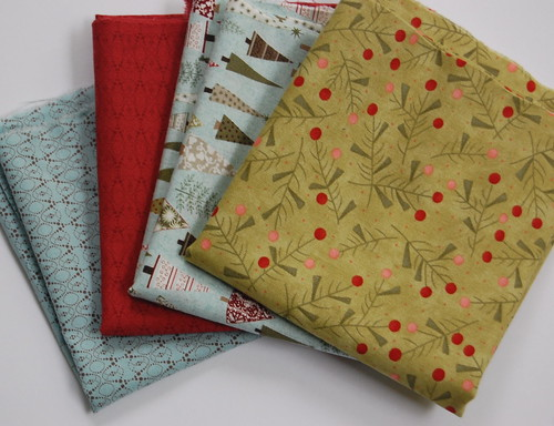 Moda quilt fabric - Figgy Pudding