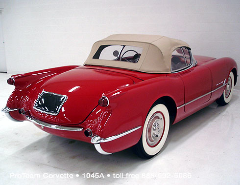 1954 Corvette Convertible, VIN #2408
