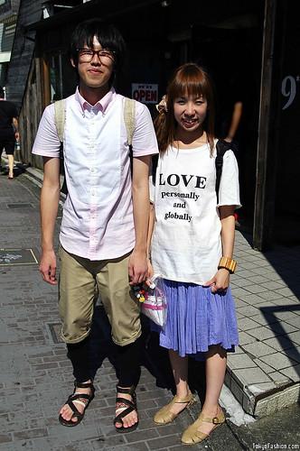 Cute Harajuku Street Fashion