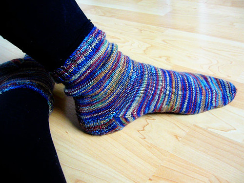 Autumn socks by you.