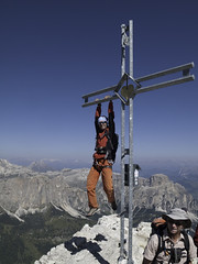 I want to be over the top :) - Piz da Lech, Sella, Dolomiti
