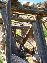 window (Ink Spots) Tags: house history home ruins timber cob past comanchenationalgrasslands picketwirecanyon