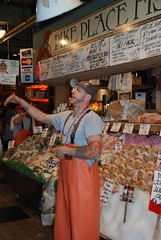 Pike Place Fish Dude