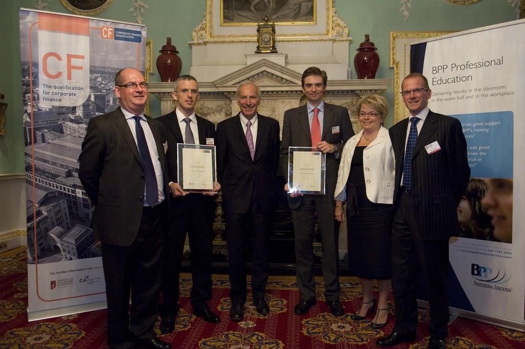 Corporate Finance Awards Student Award Winners