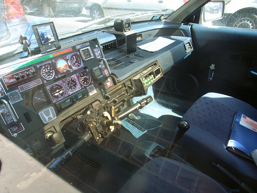 Super-tuned car dashboard
