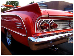 1963  Mercury Meteor Comet * Explore # 488 (Bob the Real Deal) Tags: red ford mercury kodak convertible comet meteor fins 1963 the60s