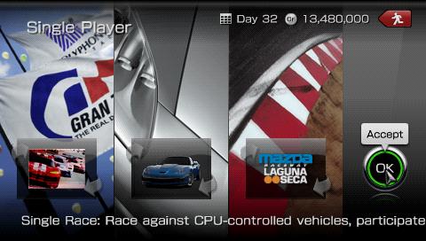 GT PSP - Single Race Top