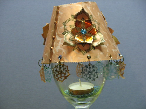 Streuter Copper Tea Light Cover 2