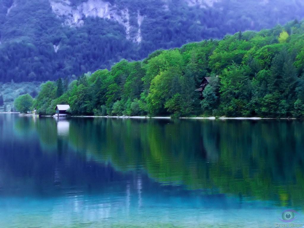 Peace at Lake BOHINJ - Slovenija