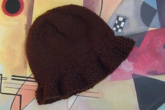 Hat based on Whirligig Shrug