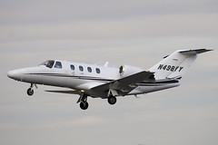 N498YY - Private - Cessna 525 Citation CJ1 - Luton - 090227 - Steven Gray - IMG_0066