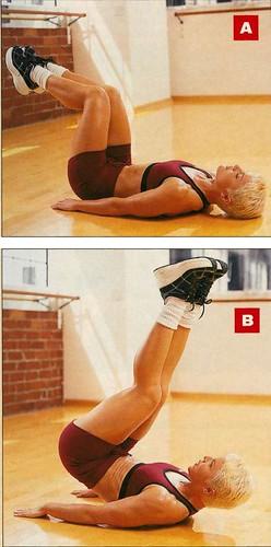 karın kası mekik hareketi Fitness hareketleri