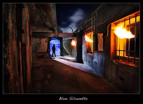 Blue Silouette