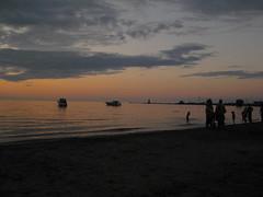 Port Dalhousie (elecbubble) Tags: sunset sky beach clouds dalhousie portdalhousie perfectsunsetssunrisesandskys