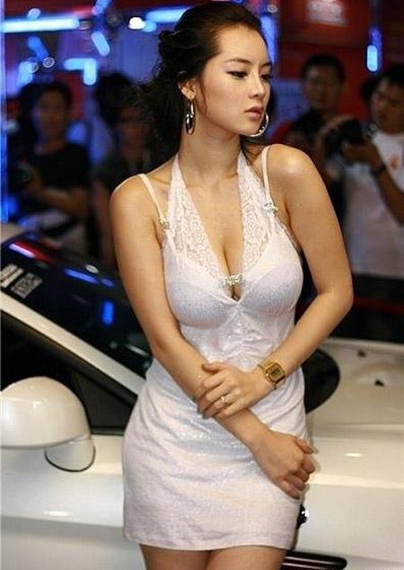 Korea Sexy Auto Show girl  tag: korea model im-ji-hye
