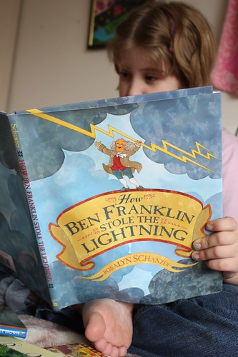 Reading How Ben Franklin Stole the LIghtning
