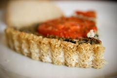 Millet crust detail