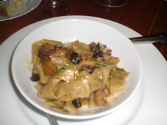 Wild Mushroom Tagliatelle with red Wine, Rosemary and Parmesan (tetedemelon) Tags: hearth
