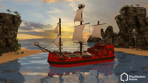 PS Home Pirate Ship