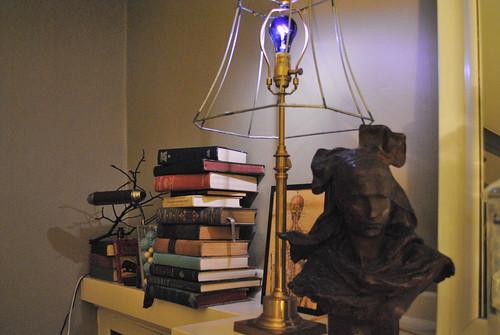 Blacklight Lamp - Halloween Decorations