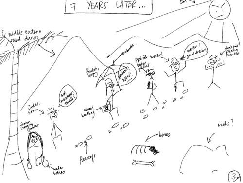 Client's sketch 3