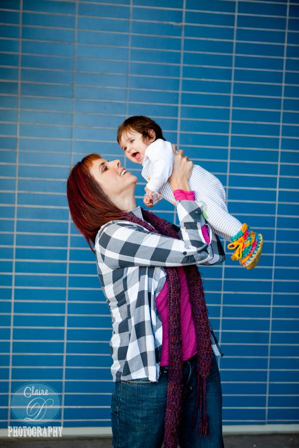 mom and baby in petaluma ca
