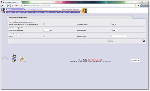 Registros en IPCop