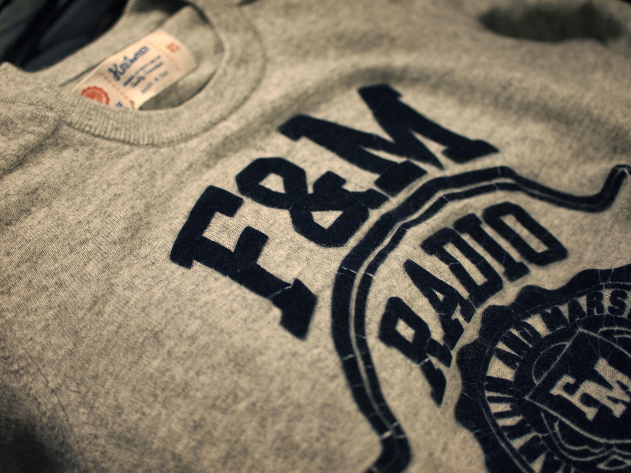 Franklin&Marshall / F&M Radio Crew Sweater