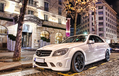 Mercedes C 63 AMG (__martin__) Tags: cars by night nikon spotting exotics supercars carspotting martincarspictures