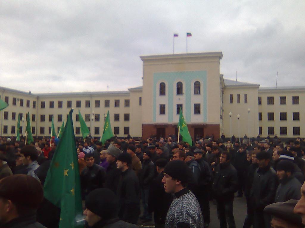 In Cherkessk they still demand to divide republic into Karachai and Circassia