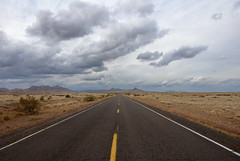 DSC_5545(road) (killbox) Tags: road clouds landscape vanishingpoint desert vista nm highway27