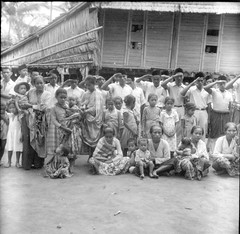 Local residents in Palu