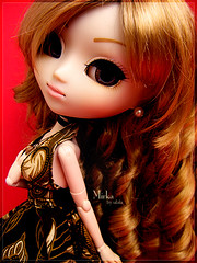 Golden girl (Tramidepain) Tags: doll clarity groove pullip rement monique jpop mirka obitsu junplanning