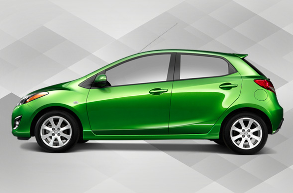 Mazda2 LA Auto show photos