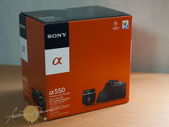 Sony Alpha A550 Box