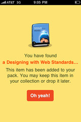Designing With Web Standards 3rd Edition - on Gowalla! (Jeffrey) Tags: life history digital studio design amazing code events content webdesign application delight agency software ia developers surprise online interactive strategic publishing biography mylife html ux app ohyeah partners interaction designers apps webdevelopment userexperience zeldman jeffreyzeldman applications iphone webcontent coders outofthepast webdevelopers designingwithwebstandards mylifeinpictures dwws webpublishing contentstrategy alamofire publshers webevents dwws3e gowalla alamofireinc