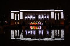 Puteaux - Illuminations Nol 2009 (Gilles Couteau) Tags: mairie puteaux mairiedeputeaux illuminationdenol2009illumination