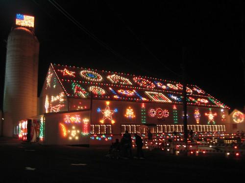 Christmas Village Pa.Koziar S Christmas Village In Bernville Pa Lights Up The